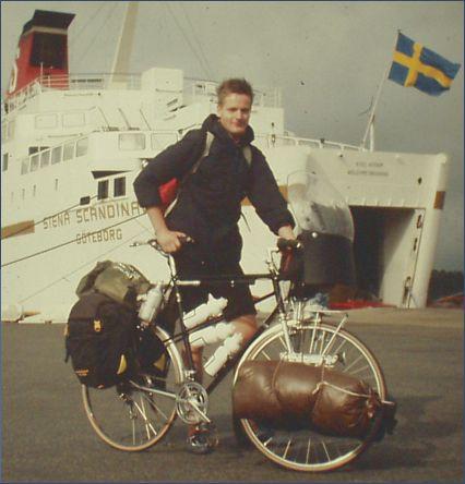 Auf meiner ersten Radtour zum Nordkap